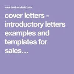 Introduction for cover letter examples